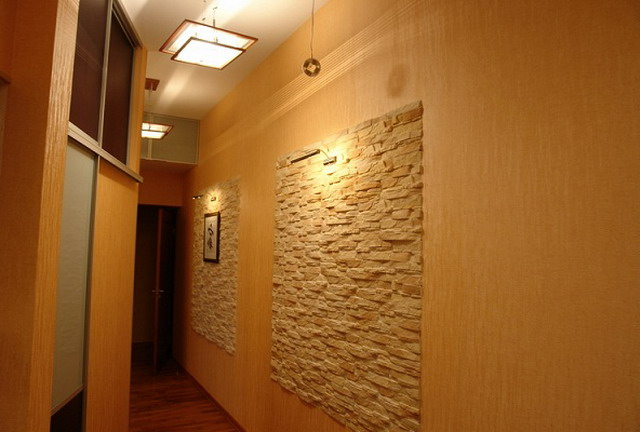 Фото дизайна стен прихожей