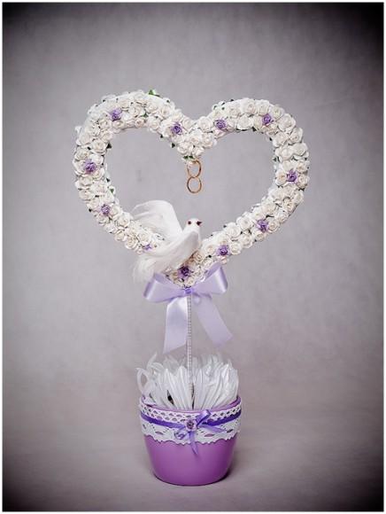 Работа топиария цветы для свадьбы
