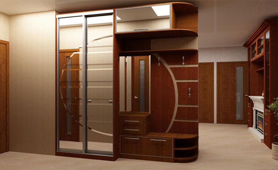 Фото шкафы в коридоре дизайн фото