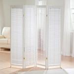 4-panels-white-Tranquality-room-divider-shutter-screen