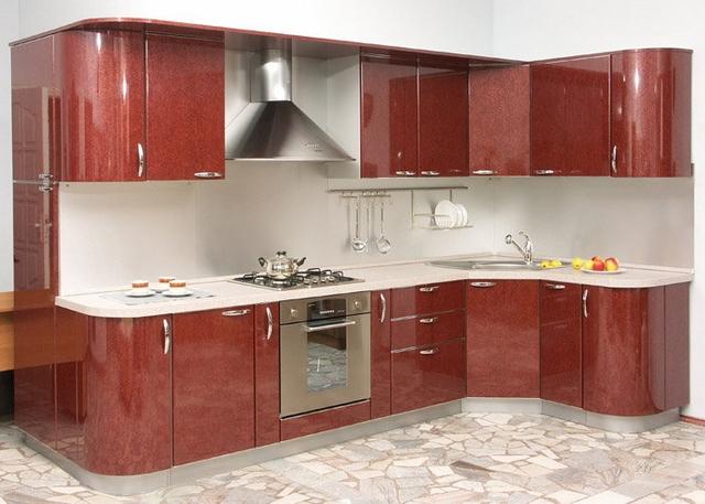 Кухонный гарнитур для маленькой кухни: фото, выбор, фасад.