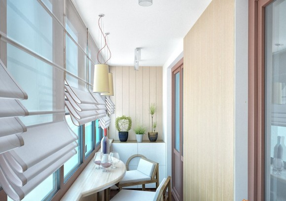 Фото идеального решения на балконе