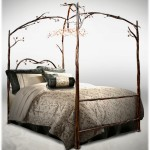 Delazious-wrought-iron-canopy-bed-with-detailed-iron-branches-600x627