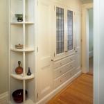 Hallway-ideas-white-corner-shelf-design-idea