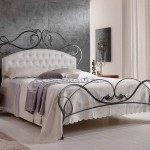 Infabbrica-Ethos-wrought-iron-bed-with-tufted-headboard