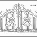 Узоры на ворота