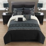 King-Veeda-Black-and-Gray-Comforter-Set