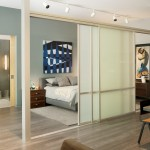 Marvelous-Opague-Sliding-Interior-Doors-with-Big-Size-and-Separating-Bedroom-with-Dining-Space