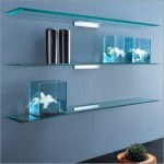 Pretty-looking-glass-wall-shelves