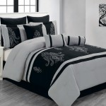 Queen-Sherman-Black-and-Gray-Comforter