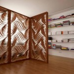 Stylish-and-Modern-Room-Divider-with-Curvy-Shapes-Pattern-modern-house-partition