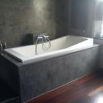 Tadelakt Grey Bath