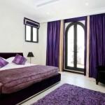 dark-purple-velvet-curtains-for-bedroom