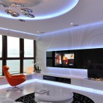 exciting-living-room-minimalist-apartment-decoration-design-with-orange-accents-futuristic-style