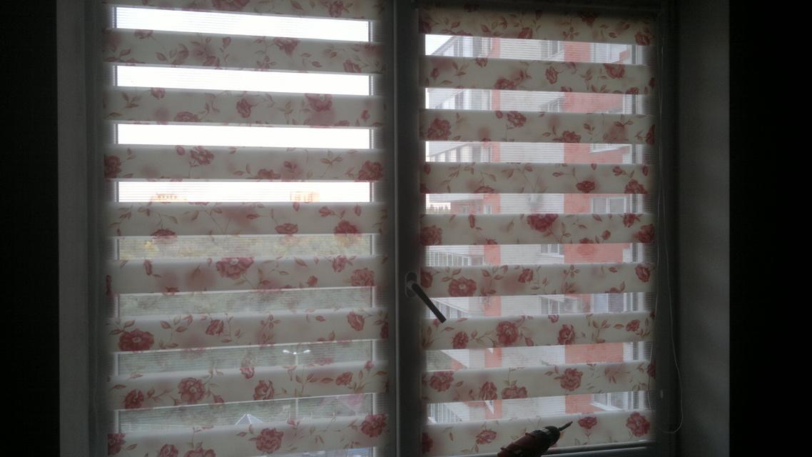 жалюзи на пластиковые окна день ночь фото