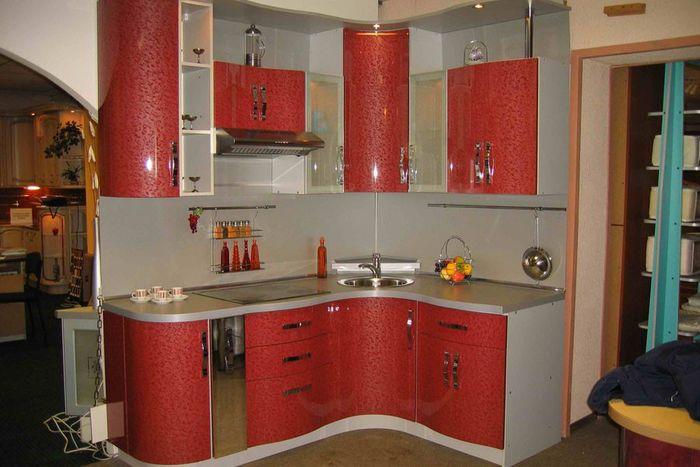 Кухонный гарнитур дизайн угловой