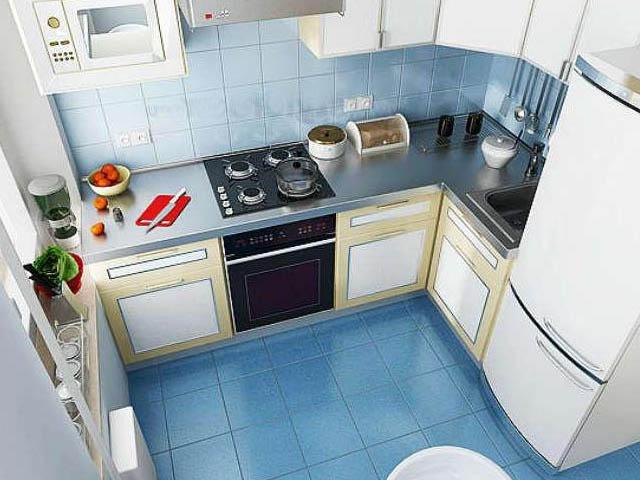 Дизайн маленькой кухни 3 кв.м фото