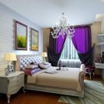 purple-bedroom-curtains