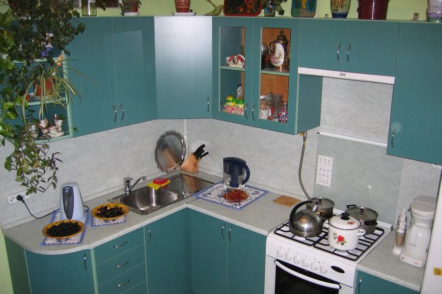 Маленькая угловая кухня 6 кв.м дизайн