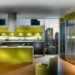 retro-modern-style-green-apartment-french-kitchen-design