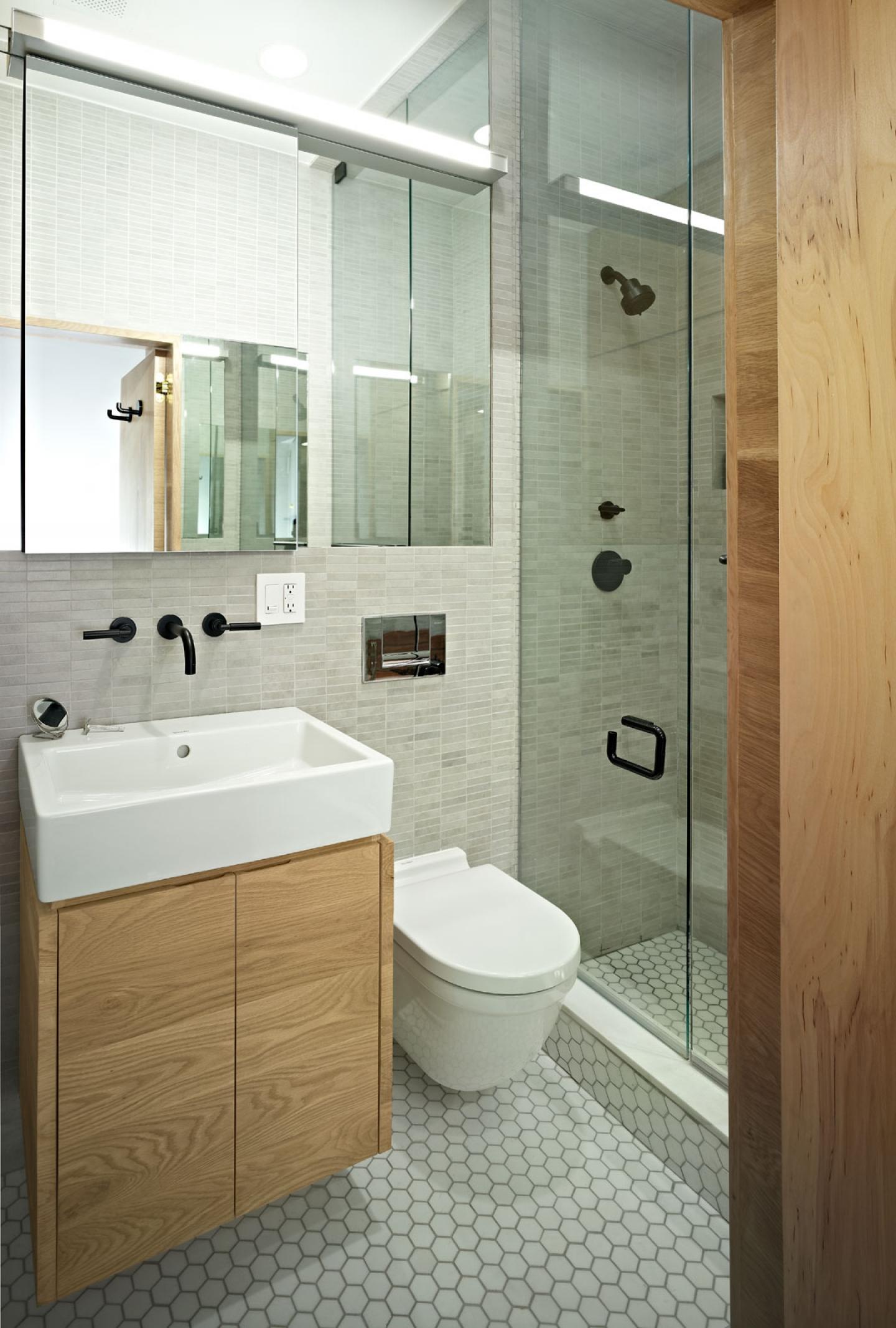 Ванная в однокомнатной квартире дизайн
