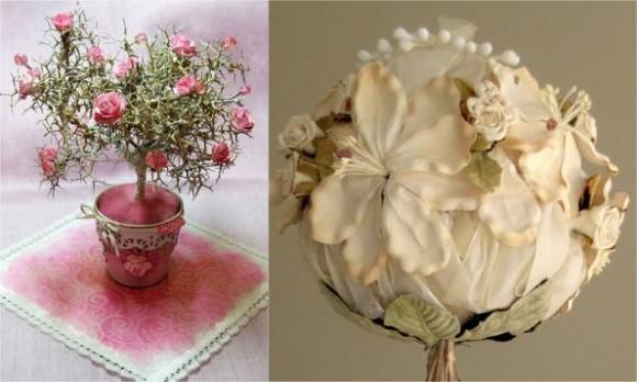 Топиарий дерево роз