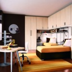 uncategorized-boys-bedroom-with-futuristic-black-and-white-interior-color-and-white-corner-closet-ad-orange-bed-and-rug-14-cheeful-and-creative-boys-bedroom-themes-you-should-see-kids-ro