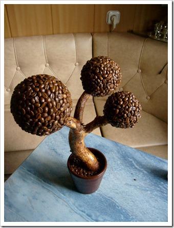 Кофейное дерево поделка своими руками