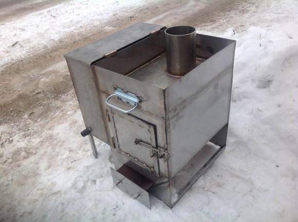 Пример-банной-печи-из-металла
