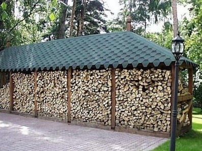 Построить сарай для дров 43