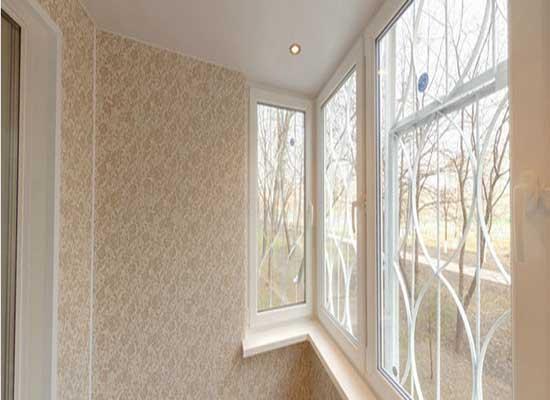 Отделка балконов внутри: фото, виды, облицовка.