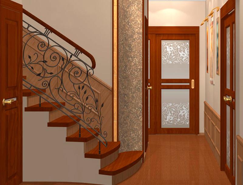 Роспись стен коридора своими руками фото 768