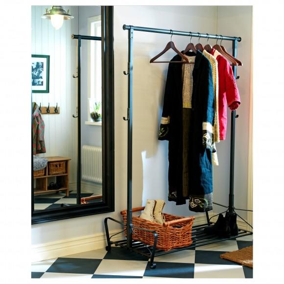 Вешалка для одежды напольня в прихожую