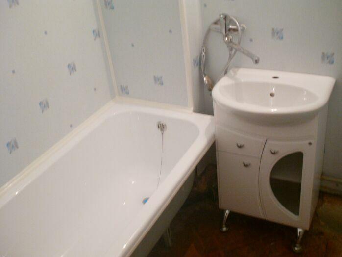 Ванная комната с пластиковыми панелями своими руками