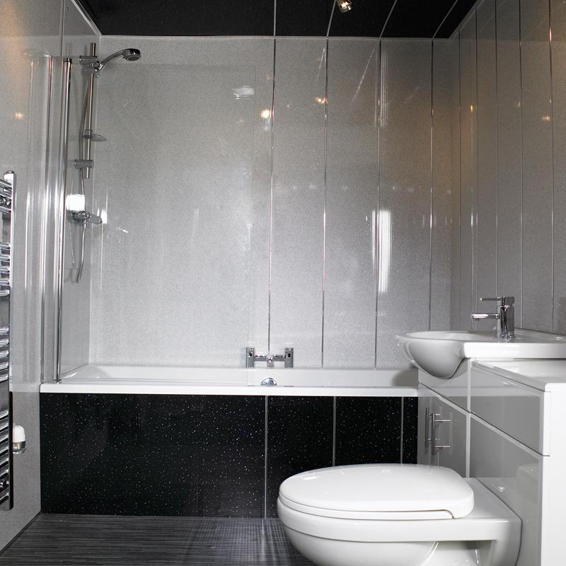 Дизайн ванных из панелей пвх