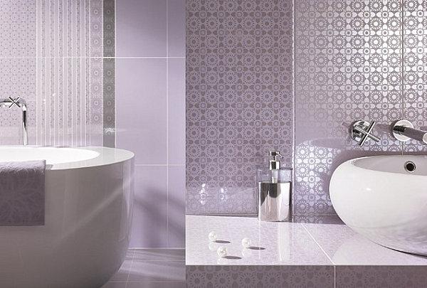 Дизайн пластиковых панелей в ванной