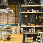 Chalk-Board-Kitchen-Shelves-Loft-Style-Home-Terrassa-Spain