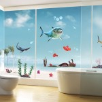 Cute-Fish-Wall-Stickers-font-b-For-b-font-Kids-Rooms-Shark-Wall-Decal-font-b