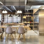 Dining-Table-Pendant-Lighting-Loft-Style-Home-Terrassa-Spain