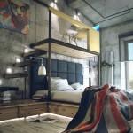 Dual-level-bedroom-mezzanine-office