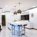 Neon-lighting-under-the-kitchen-bar