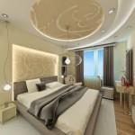 Plasterboard -ceilings- in- the- bedroom4