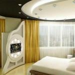 Plasterboard -ceilings- in- the- bedroom9