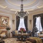 Bautiful Classic Living Room Style Luxury Villa in Qatar