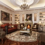 classic-style-living-room-with-round-carpet-classic-style-living-room