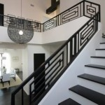 Contemporary Stair Railing Design