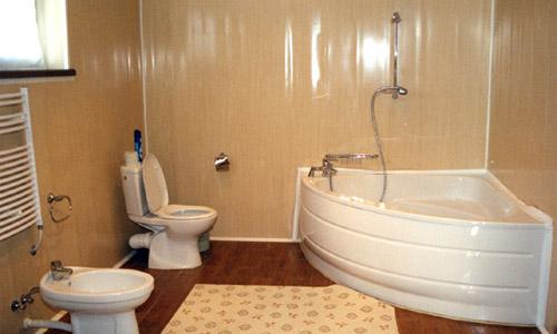 Ванная комната своими руками пластиковыми панелями