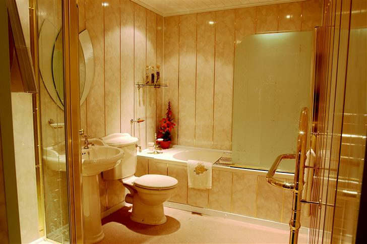 Ванная комната своими руками панелями пвх
