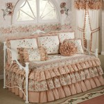 feature-design-furniture-decoration-wonderful-trundle-bed-covers-design-gallery-with-beautiful-melody-floral-ruffled-daybed-cover-bedding-set-artistic-trundle-bed-covers-design-galler