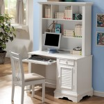 furniture-high-white-wooden-desk-with-shelf-and-drawer-also-storage-added-by-white-wooden-chair-on-laminate-flooring-outstanding-design-of-white-desk-with-shelves-as-your-reference
